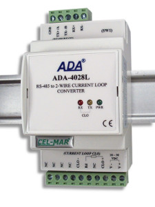 RS-485 to Current Loop 2-wire CLO Converter
