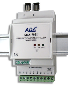 Multimode Fiber Optic to Current Loop Converter