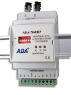 Multimode Fiber Optic to PROFIBUS-RS485 Converter